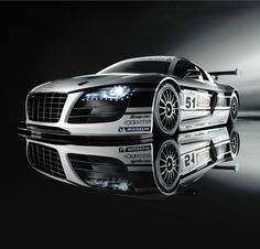 Audi R8 LMS Ultra Race Car versus the Infamous Nurburgring! This is seriously cool! Hit the pic to watch the video #carporn