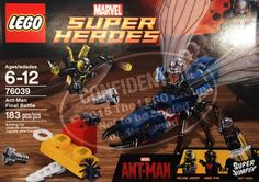 Buy LEGO Superheroes Marvel's Ant-Man 76039 Building Kit (Discontinued by. Luge, Ant Man Lego, Ant Man Avengers, Lego Marvel Super Heroes, Buy Lego, Everything Is Awesome, Lego City, Ants, Cool Things To Buy