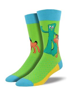 ef088274f6 gumby   pokey men s fashion socks