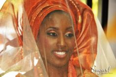 Beautiful Yoruba Bride at a Nigerian Wedding Nigerian Weddings, African Weddings, Yoruba People, White Weddings, African Men, African Culture, People Of The World, West Africa, Makeup Inspiration