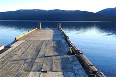 Lake jetty photographic PRINTABLE INSTANT DOWNLOAD by NewCreatioNZ, $10.00