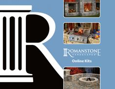 Romanstone now ships our popular easy to build DIY kits. Our outdoor living fireplace kits simply glue together. Shop our affordable outdoor DIY kits here. Outdoor Fireplace Kits, Backyard Fireplace, Fire Pit Backyard, Small Patio Design, Backyard Patio Designs, Backyard Landscaping, Patio Layout, Outdoor Stone, Fire Pit Designs
