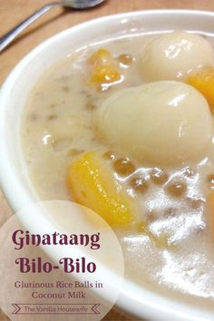 How to make Ginataang Bilo Bilo