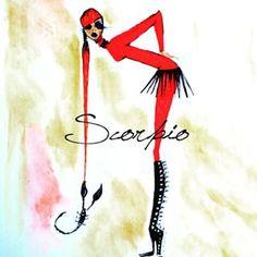 Scorpio Horoscope Scorpio Horoscope, My Black Is Beautiful, Illustration, Outdoor Decor, Scorpion, Image, Life, Scorpio, Illustrations