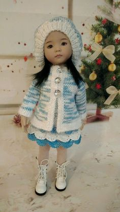 "OOAK Outfit for dolls Dianna EFFNER LITTLE DARLING 13"" #DiannaEffner"