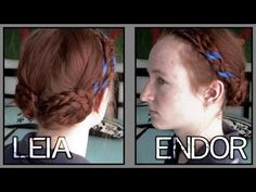 Star Wars Hair - Leia on Endor - YouTube