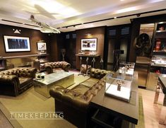 Image result for aviation man cave