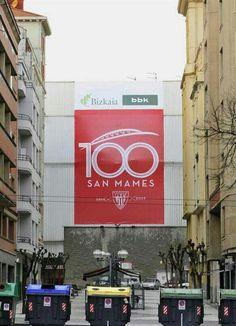 Zorionak, San Mames #football #Bilbao #Catedral