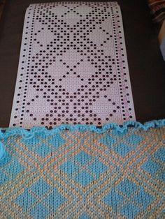 Carpet Runners For Stairs Uk Code: 2220566365 Knitting Charts, Lace Knitting, Knitting Stitches, Knitting Patterns, Knitting Machine, Diy Carpet, Rugs On Carpet, Beige Carpet, Where To Buy Carpet