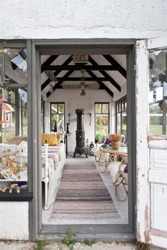 Huvimaja Country Living, Interior Inspiration, Netherlands, Building A House, Gazebo, Cottage, Outdoor Structures, Garden, Beach Houses
