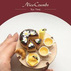 2017. Miniature Honey tea time ♡ ♡By Nice Crumbs