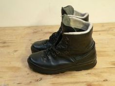 Haix Mountain Boots German Army Surplus