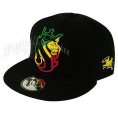 ce143c3e032 Lion of Judah Rasta Striped Cap