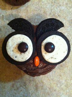 oreo cookie owl cupcakes - Google Search