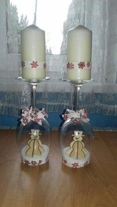 Svícny skleničky