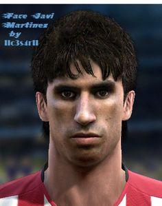 J.Martinez face for Pro Evolution Soccer 2012