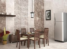 Tiles Details,Style Never Goes Out of Fashion & Neither Does Nitco. Visit our Website, Dealers or Stores for all Types of Tiles, Marble & Mosaico Products in India Misty Brown, Kitchen Wall Tiles, Brown Walls, Flooring, Furniture, Home Decor, Mosaics, Decoration Home, Room Decor