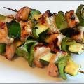 Honey Soy Grilled Chicken Kabobs
