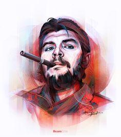 Che Guevara - A Digital Revolution - In Photoshop on Raju Che Quevara, Che Guevara Photos, Che Guevara T Shirt, Che Guevara Tattoo, Wallpapers En Hd, Ernesto Che Guevara, Digital Revolution, Galaxy Pictures, Canvas Prints