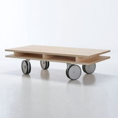 Caster Table Maple now featured on Fab. [Commonhouse]