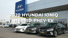 Differences Between an EV, PHEV and Hybrid with the 2020 Hyundai Ioniq Driving Test