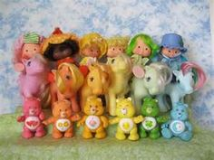 yep...I had Strawberry Shortcake dolls, My Little Ponies & Care Bears