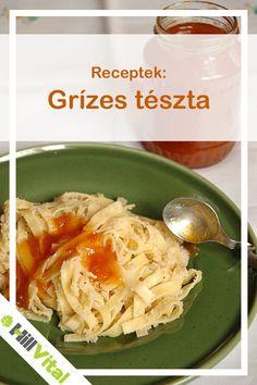 Hozzávalók: - 25 dkg metélt tészta (már lehet kapni teljes kiőrlésű lisztből) - 2 dl búzadara - 1 ek. xilit - 2 dl víz - pici olívaolaj, só - házi gyümölcslekvár Elkészítése: Cabbage, Vegetables, Food, Vegetable Recipes, Eten, Veggie Food, Cabbages, Meals, Collard Greens