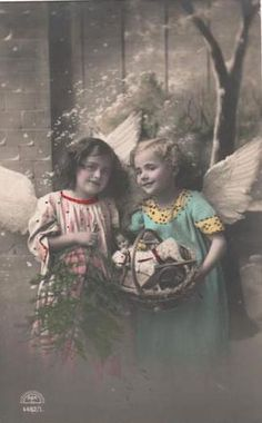 More Vintage Angels.