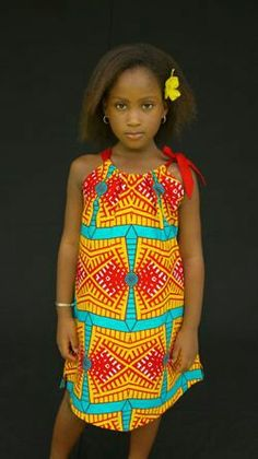 Ankara Styles For Kids, African Dresses For Kids, African Children, African Print Dresses, African Inspired Fashion, African Print Fashion, Africa Fashion, African Attire, African Wear
