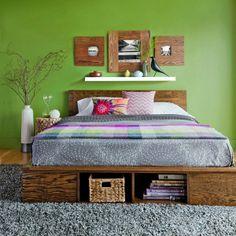 Home Decor Ideas: Platform Bed