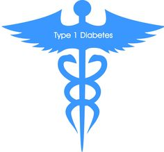 Type 1 Diabetes Medical Alert Temporary Tattoo (Set of 2)