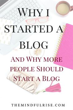 Why should anyone start a blog? There are a dozen of reasons, but mainly it is an opportunity to express ideas, build an online presence, and to make money/ for profit