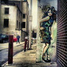 Street art Alice Pasquini