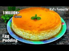 Egg Pudding Recipe, Pudding Recipes, Egg Recipes, Cake Recipes, Dessert Recipes, Cooking Recipes, Caramel Pudding, Carrot Cake Cookies, Good Food