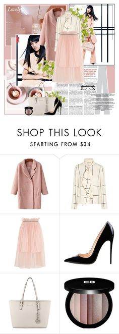 """Untitled #850"" by mary-elizabeth-x ❤ liked on Polyvore featuring Tory Burch, Mother of Pearl, MICHAEL Michael Kors and Edward Bess"