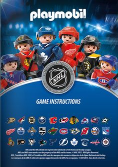 Where was this when Patch was younger?!  PLAYMOBIL® Fun & Action | Content Page NHL Hockey