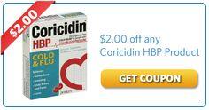 $2.00 off any Coricidin HBP Product