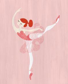 prima ballerina giclée print