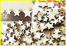 100 Wooden Stars shapes Craft Scrapbooking Ply Wood star gift, Embellishment