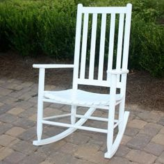 White Outdoor Rocking Chairs On Hayneedle   White Outdoor Rocking Chairs  For Sale