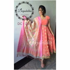 Designer Anarkali Dresses, Designer Dresses, Salwar Designs, Blouse Designs, Indian Dresses, Indian Outfits, Stitching Dresses, Elegant Saree, Indian Designer Outfits