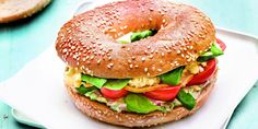 Recette Weight Watchers : Bagel breakfast (8 Smartpoints par pers.)