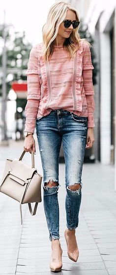 street style with neutral shades
