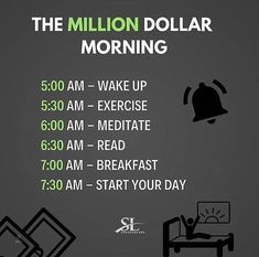 Whats your morning routine?