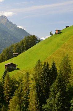 Hill in Austria, by phllpschlz