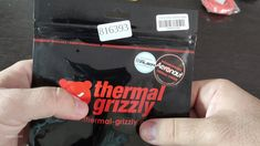 Thermal Grizzly Aeronaut Thermal Grease, Build A Pc, Plastic Card, Make It Yourself
