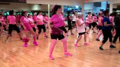 Wobble- Zumba Party in Pink (+playlist) we need one in seminole that's this fun