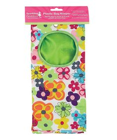 Take a look at this Watercolor Small Plastic Bag Keeper by Boston Warehouse on #zulily today! Need to make this!