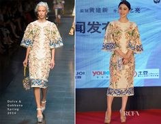 Fan Bingbing In Dolce & Gabbana – 'White Haired Witch' Press Conference