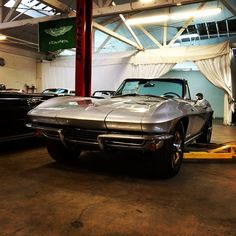 1965 Sting Ray Chevy Corvette Convertible.